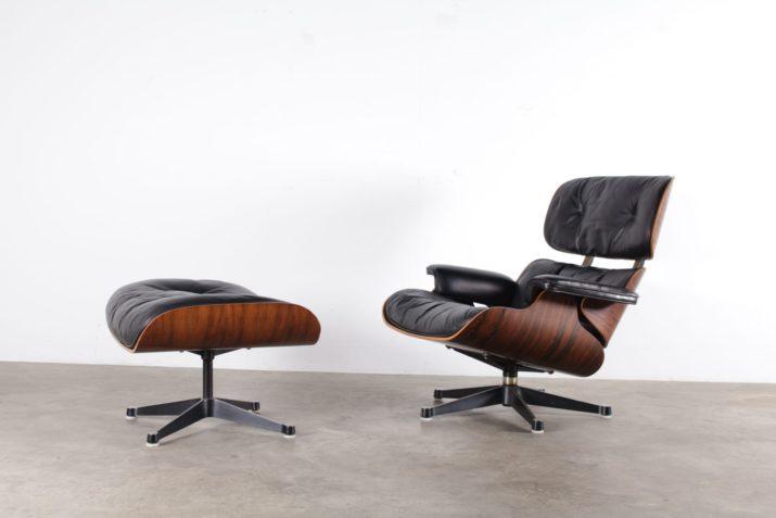 Charles & Ray Eames Lounge chair & ottoman