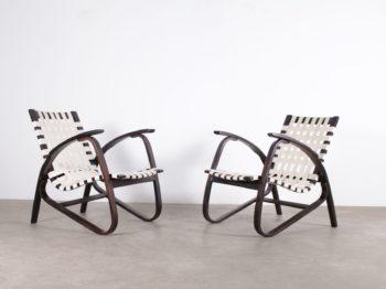 Paire de fauteuils Jan Vanek