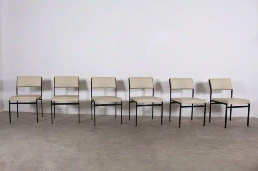 Suite de 6 chaises - Cees Braakman pour UMS PASTOE