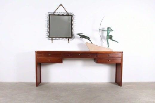 Miroir style Gilbert Poillerat