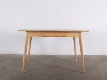 """Table """"tonneau"""" en bois"""