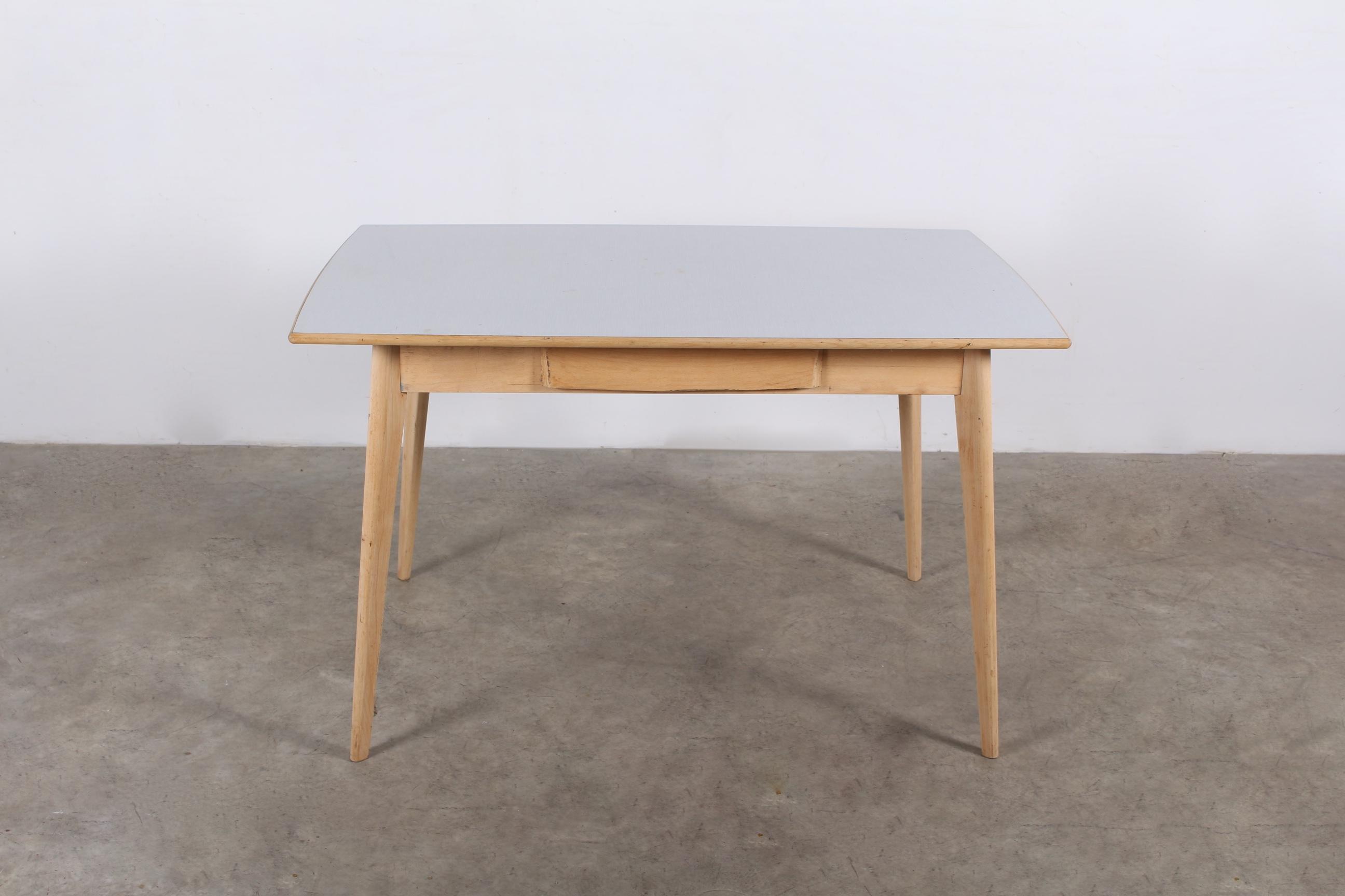 Table Tonneau En Bois Meubles Vintage Liege