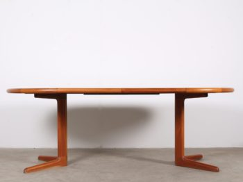 Table ronde à allonges DYRLUND DENMARK