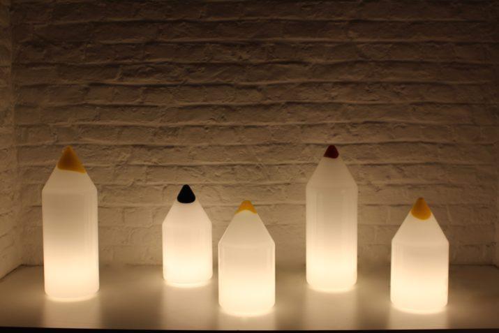 "Lampes ""Matita"" Vetri Murano"