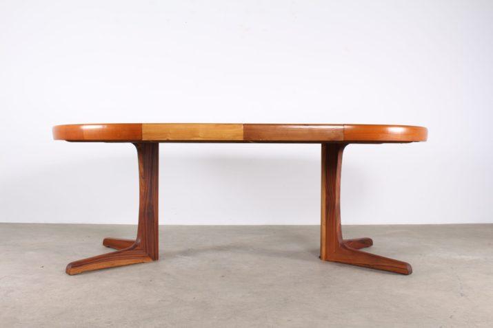 Table à allonges danoise