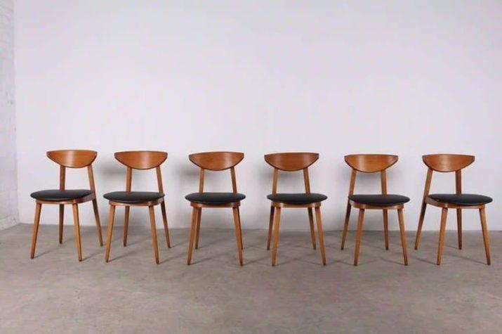 Suite de 6 chaises  - Pierre Guariche