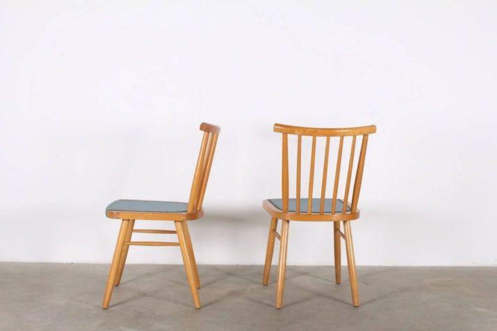 Paire de chaises Lübke