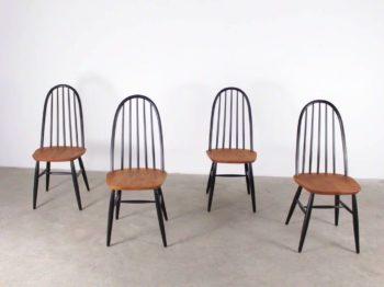 Suite de 4 chaises - Lucien Ercolani pour Ercol