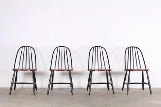 4 chaises Suède 1950
