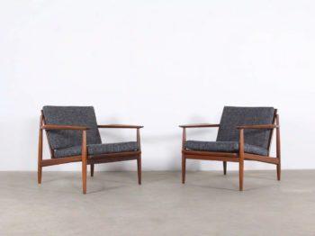 Paire de fauteuils - par Arne Vodder