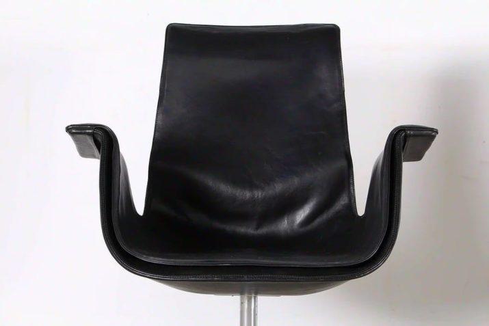 """Paire de chaise """"TULIP"""" - Preben Fabricius & Jorgen Kastholm pour KILL INTERNATIONAL"""