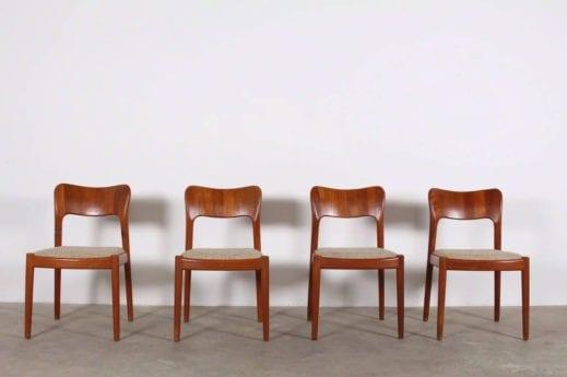 """4 chaises """"DYRLUND"""""""