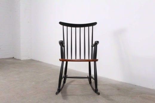 Rocking chair scandinave