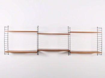 "Etagères murales modulables ""STRING"" - Nils ""Nisse"" Strinning (1917-2006)"