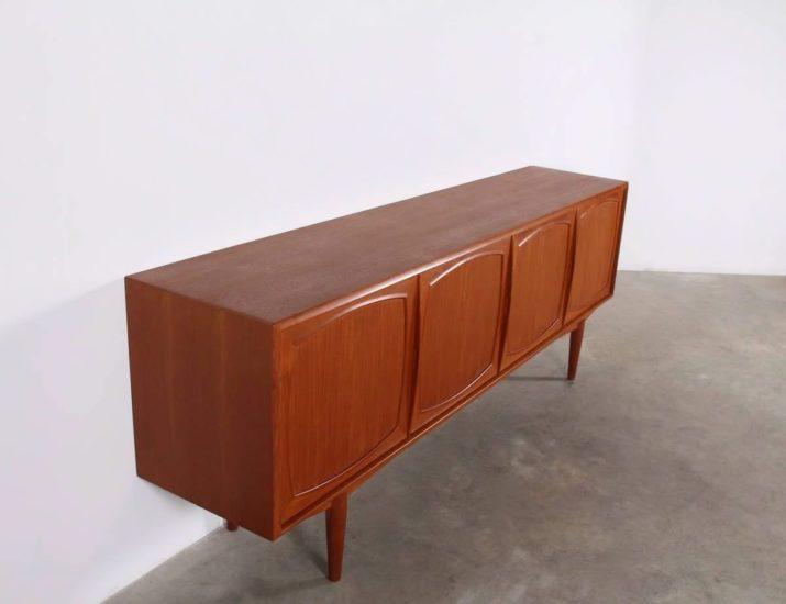 Sideboard en teck - Alf Aarseth pour Gustav Bahus Møbelfabrik
