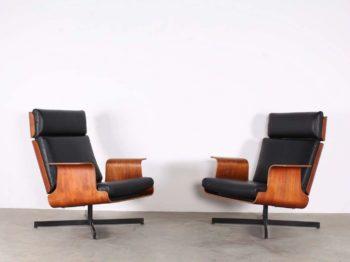 """Paire de fauteuils """"Lounge"""""""