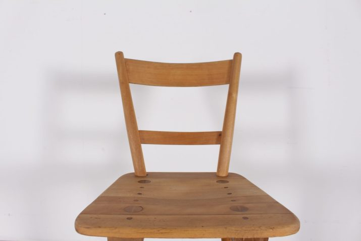 6 chaises  style atomique précurseur 1943