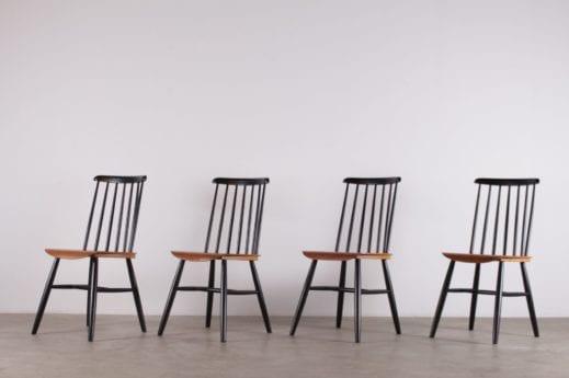 "4 chaises style ""Fanett"""