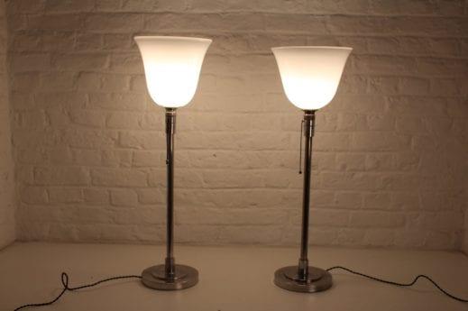 """Lampes """"Compagnie des Lampes de PARIS """""""