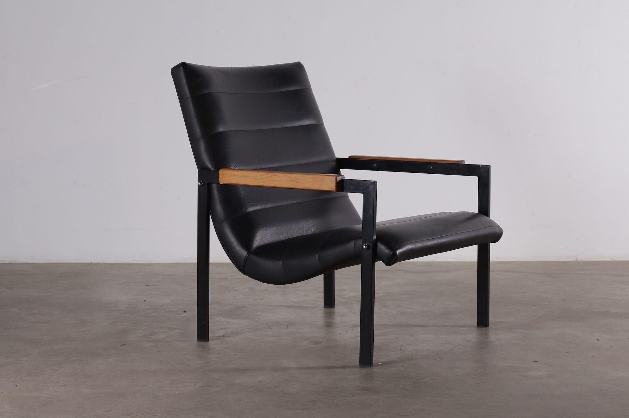 fauteuil las vegas pierre guariche meurop meubles vintage li ge. Black Bedroom Furniture Sets. Home Design Ideas