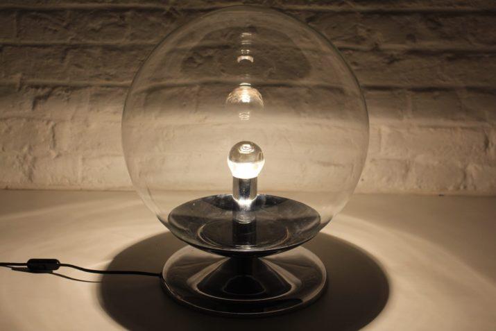 """Lampe à poser """"boule"""" space-age"""