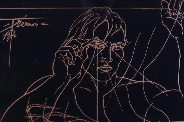 """""""Obsession"""" Epogravure Pierre-Yves Trémois"""