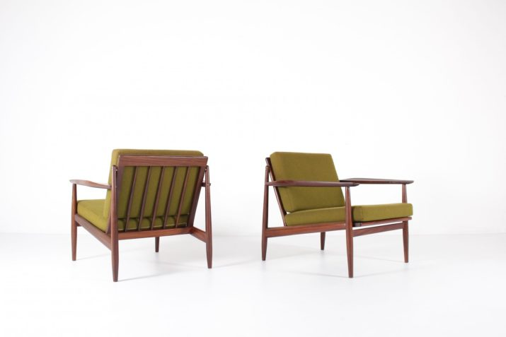 Arne Vodder paire de fauteuils