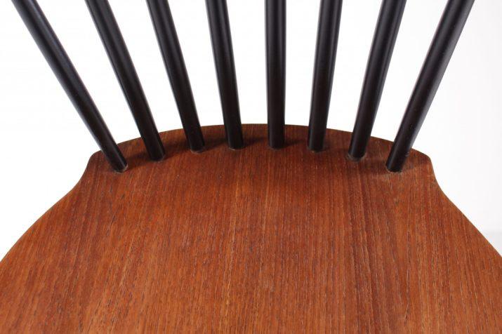 6 chaises scandinaves