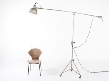 """Rare lampe d'atelier à contrepoids """"Kindermann"""""""