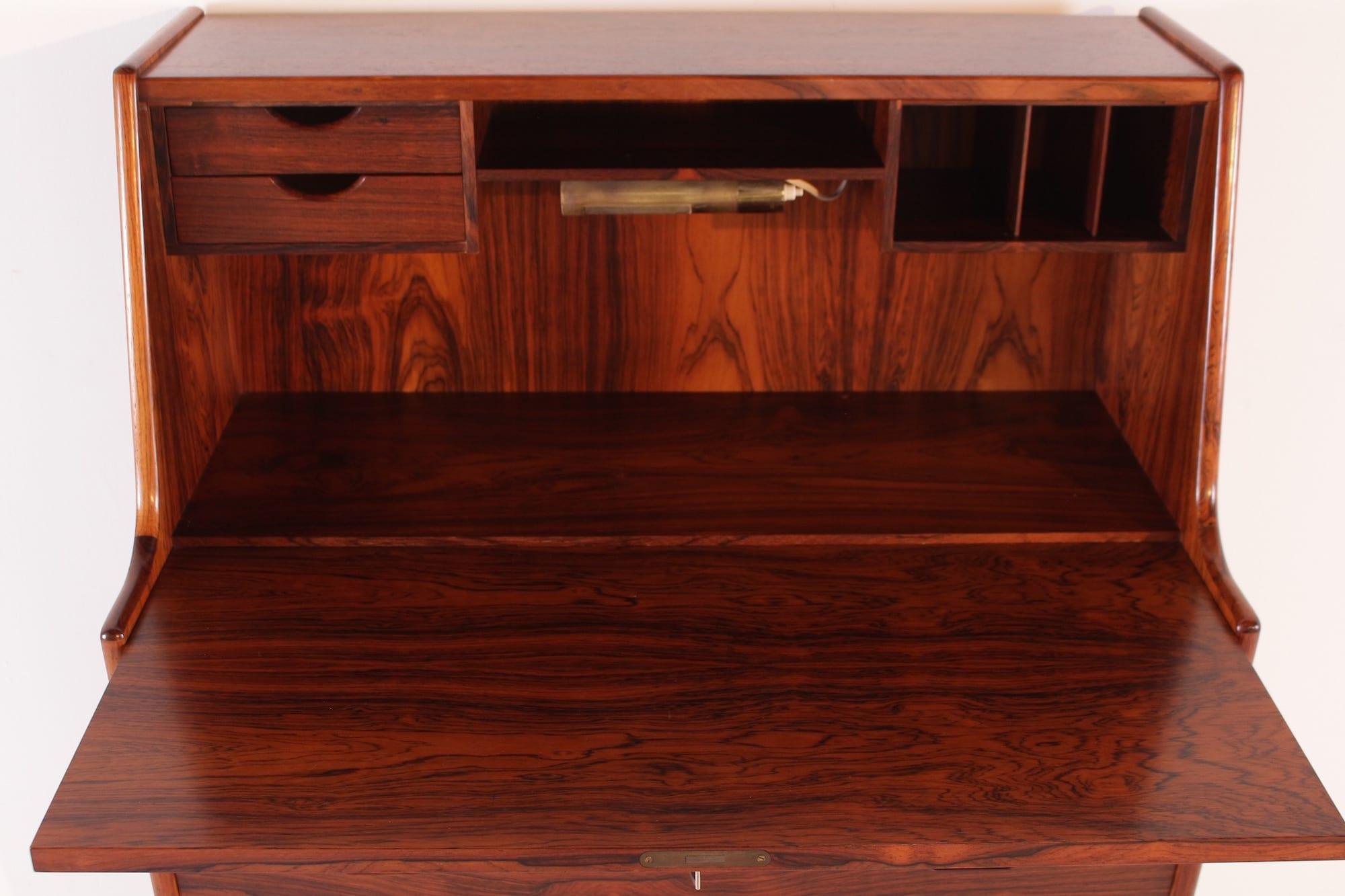 secr taire abattant arne wahl iversen meubles vintage li ge. Black Bedroom Furniture Sets. Home Design Ideas