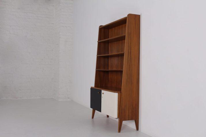 Bibliothèque armoire 1960