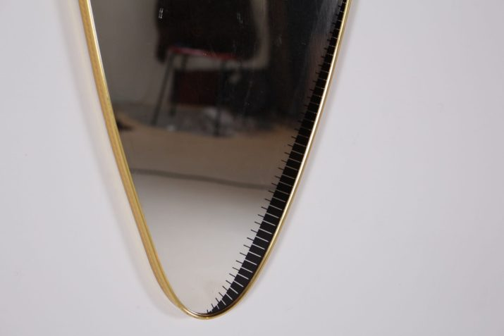Miroir forme libre 1950