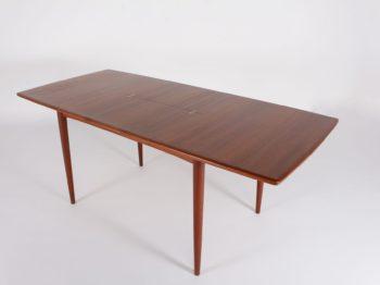 Table à allonge scandinave Swiss Teak