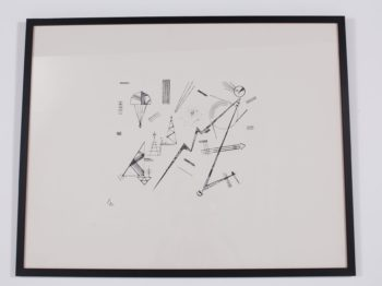 Kandinsky, lithographie.
