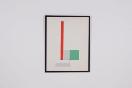 "Georges Vantongerloo ""y = -x2 + bx +c / Oeuvre 83"", épreuve d'artiste."