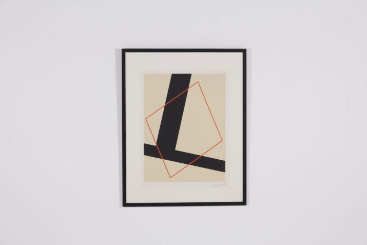Friedrich Vordemberge-Gildewart, lithographie, épreuve d'artiste.