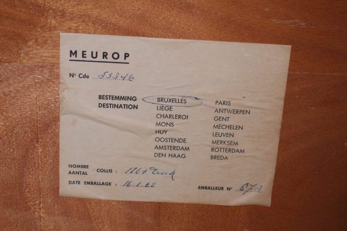 Buffet Pierre Guariche pour Meurop