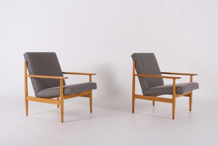 Paire de fauteuils TON (Thonet)