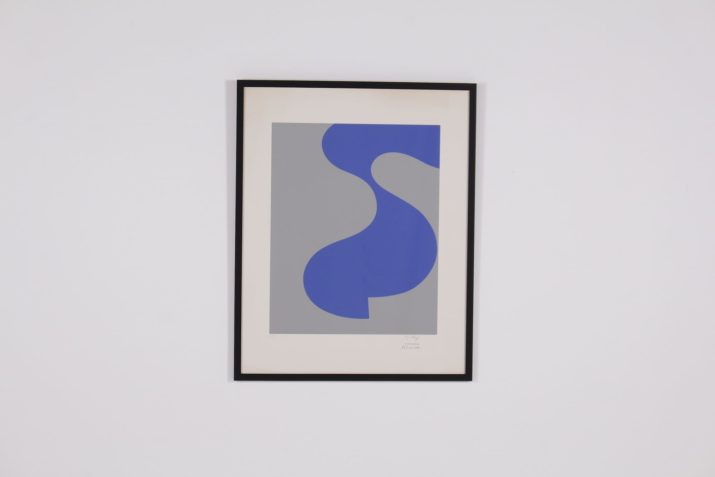 Sophie Taeuber-Arp, lithographie, épreuve d'artiste.