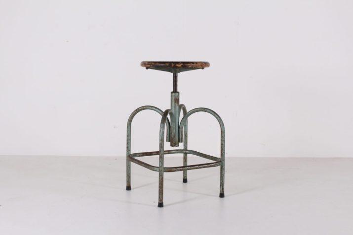 Tabouret d'atelier 1950
