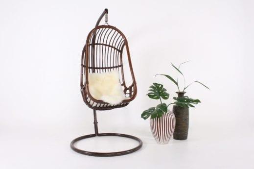 Chaise suspendue en bambou