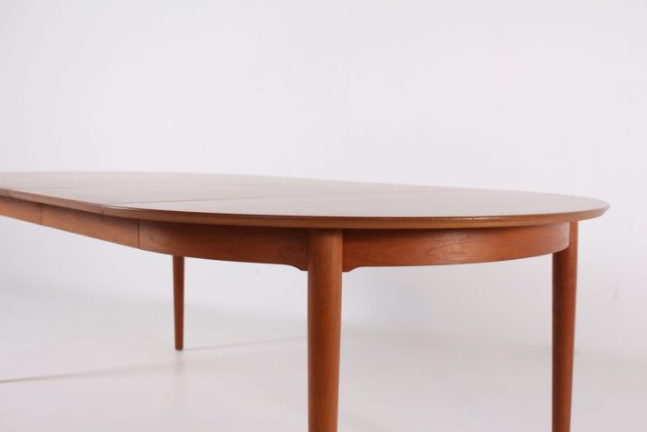 """Table ronde à allonges Arne Vodder """"Model 204"""""""
