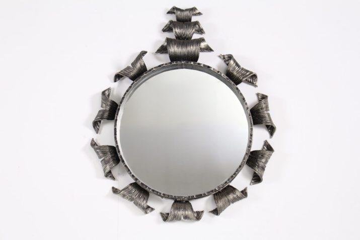 Miroir en fer forgé 1970