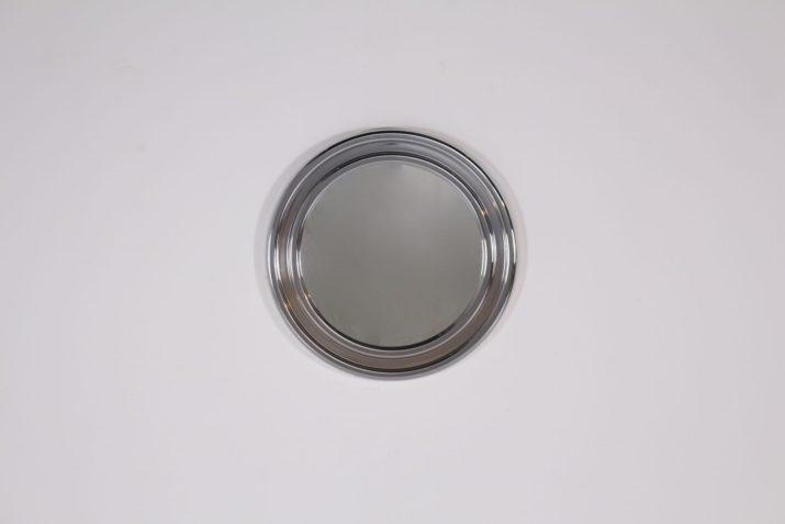 Miroir circulaire style Sergio Mazza