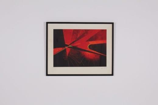 Antoine Pevsner, lithographie, Naissance de l'Univers