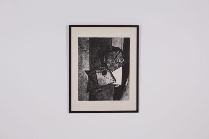 """Schiess, Hans Rudolph, lithographie """"L'appel"""""""