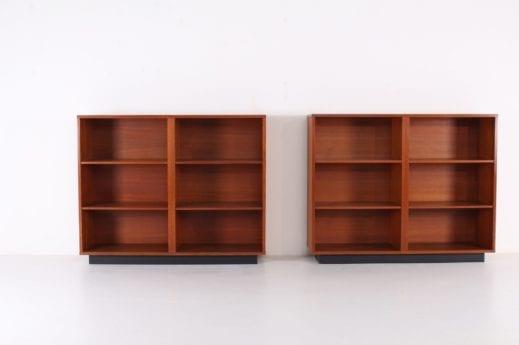 Bibliothèques Pierre Guariche pour Meurop