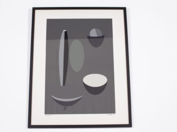 """Paule Vezelay - Marjorie Watson-Williams, lithographie """"Grey Picture"""""""