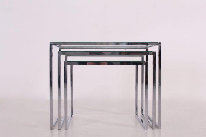 Tables basses gigognes modernistes