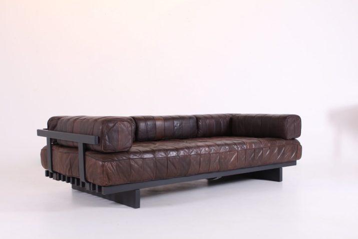 """Sofa / Daybed cuir de Sede """"DS 80"""""""